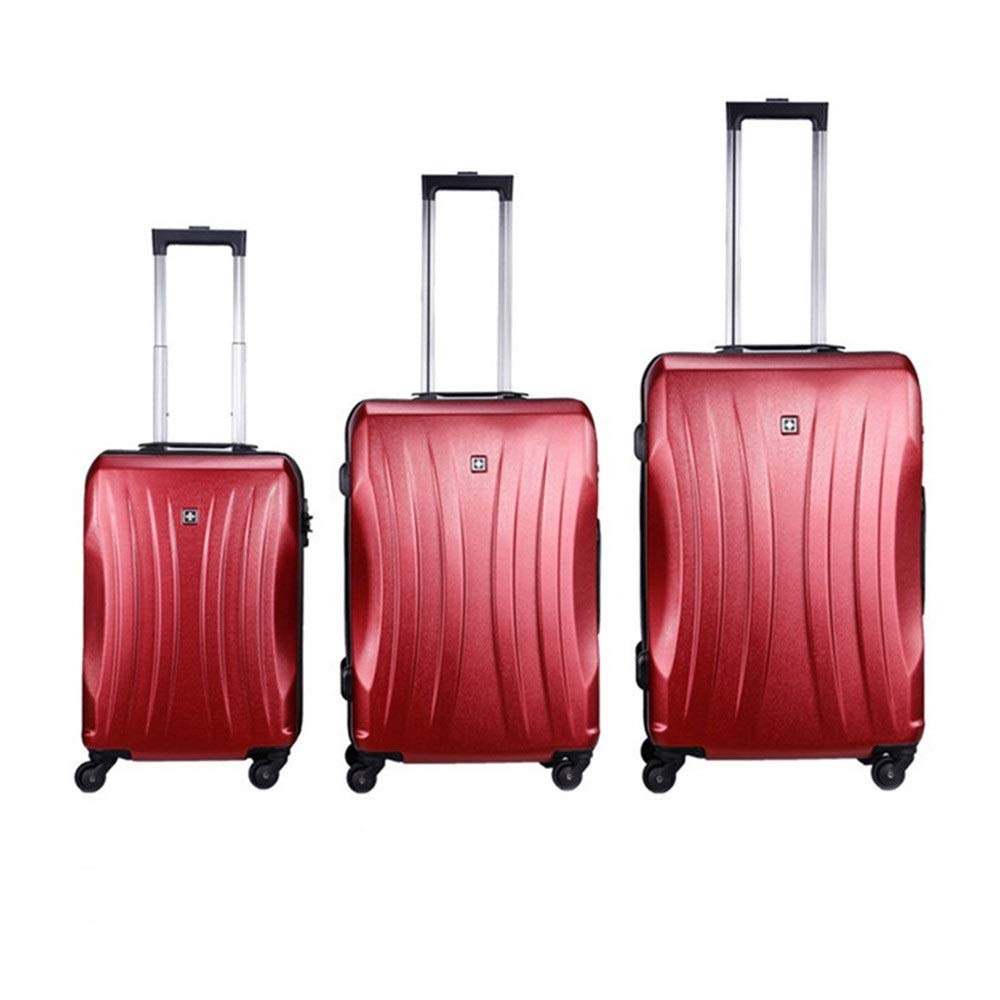Suitcase Set 20in 24in 28in Luggage 3 Piece Set Suitcase Spinner Hardshell Lightweight Nested Sets Carry-on Uprights Suitcase 360/° Silent Spinner Multidirectional Wheels for Men Women Travel Airplane