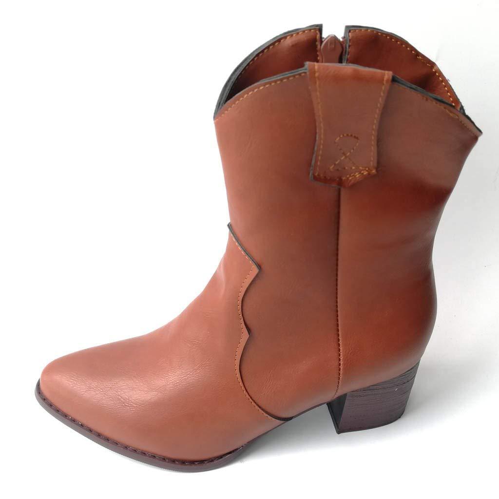 ღLILICATღ Otoño Invierno Cómodas para Mujer Zapato Boots ...