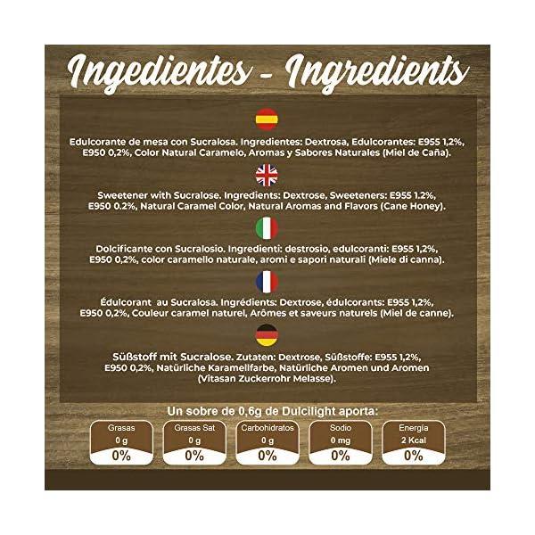 DULCILIGHT CANNA DA ZUCCHERO NATURALE 300 Bustines, DOLCIFICANTE GRANULATO al gusto naturale dello zucchero di canna… 5 spesavip