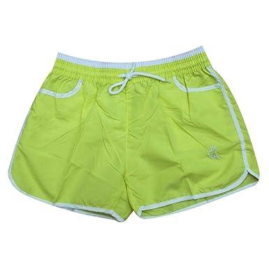 Cadiyo - Pantalones Cortos Deportivos para Mujer, Cintura ...