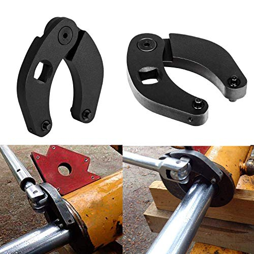 1266 Adjustable Gland Nut Hand Wrench Tool For Hydraulic Cylinders in Construction and Farm Equipment Scenarios