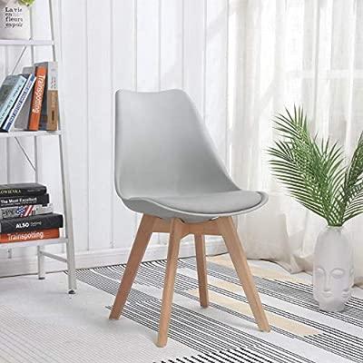 Aigrun Dos Paquetes de sillas de Comedor nórdicas de Madera ...