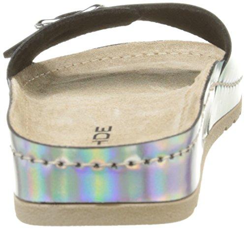 Rohde Riesa Damen Pantoletten Silber (Silber)