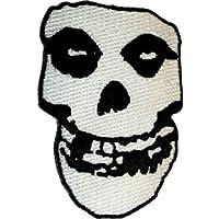The Misfits - Crimson Ghost Skull - Hierro bordado o Cosa en parche /insignia