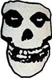 : The Misfits - Crimson Ghost Skull - Embroidered Iron or Sew On Patch / Badge