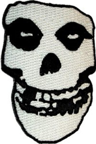 - The Misfits - Crimson Ghost Skull - Embroidered Iron or Sew On Patch / Badge