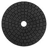 Diamond Black Buff Pad 6 Inch Final Polishing Pad for Granite Ceramic Stone Polishing - by Z-Lion