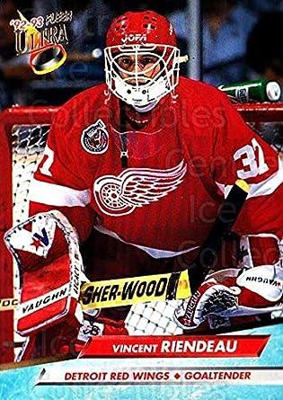 CI Vincent Riendeau Hockey Card 1992 93 Ultra Base 288