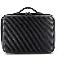 Owill Shoulder Bag Carry Case Protector PU + EVA Internal Waterproof For DJI Tello Drone (Black)