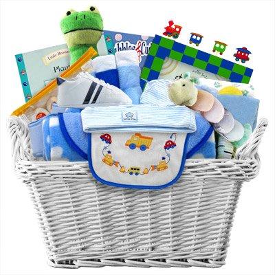 Spoil Him In Love Ultimate Baby Gift Basket -Boy