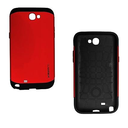 best website 62420 8d04c SPIGEN Slimarmor For Samsung Galaxy Note 2 7100 - RED: Amazon.in ...
