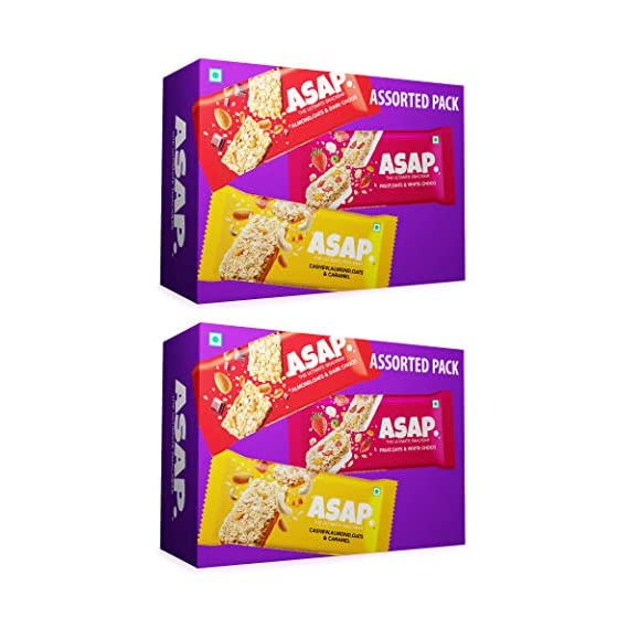 ASAP Assorted Snack/Granola Bars - Combo of 2 (210G X 2)