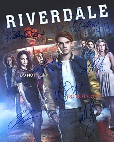 """Riverdale CW TV Show cast Reprint Signed Autographed 8x10"""" Photo #1 RP"""