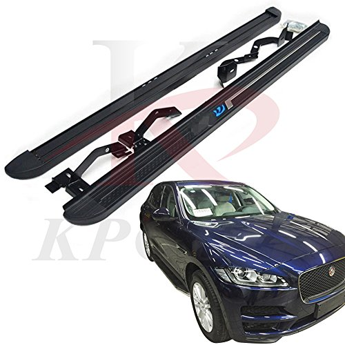 Fit For Jaguar F-Pace F Pace 2016 2017 2018 Aluminium Side Step Nerf Bar Running Boards Protector Bar by KPGDG