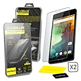 CaseBase® Premium Tempered Glass Screen Protector TWIN PACK for OnePlus Two