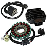#8: CALTRIC STATOR & REGULATOR RECTIFIER YAMAHA RAPTOR 660 YFM660 2001-2005 & IGNITION COIL