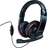 Light Weight Dynamic Wired Headphones with Boom Mic/Volume Controls – Perfect for Music/Gaming/Chat - by Isound