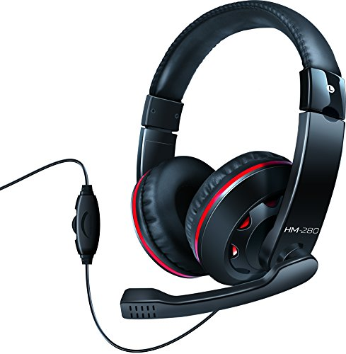 Light Weight Dynamic Wired Headphones with Boom Mic/Volume Controls - Perfect for Music/Gaming/Chat - by Isound
