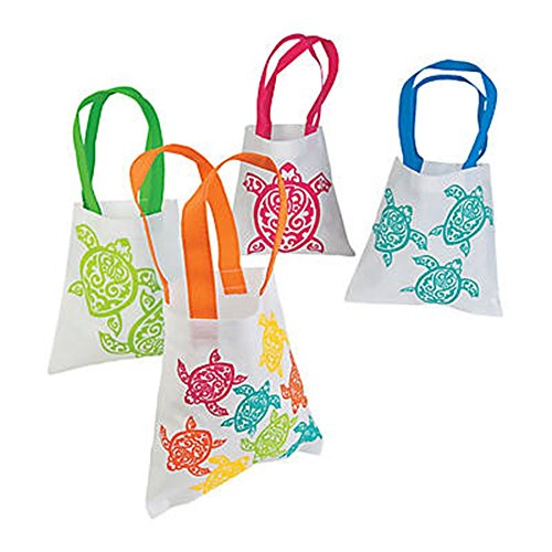 Tote Turtle Bag - Set of 12 SMALL 8