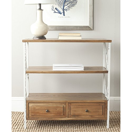 Safavieh American Homes Collection Chandra Oak and White Smoke Console Table by Safavieh