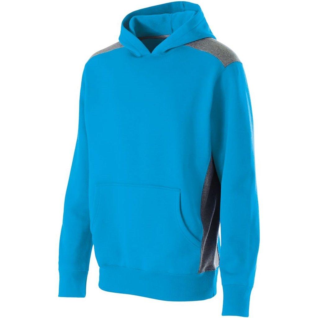 【一部予約販売】 Holloway大人用Breakout Hoodie L Bright Blue/Vintage Grey B012LYOYKO, 立野機工のWEBショッピング da8245ee