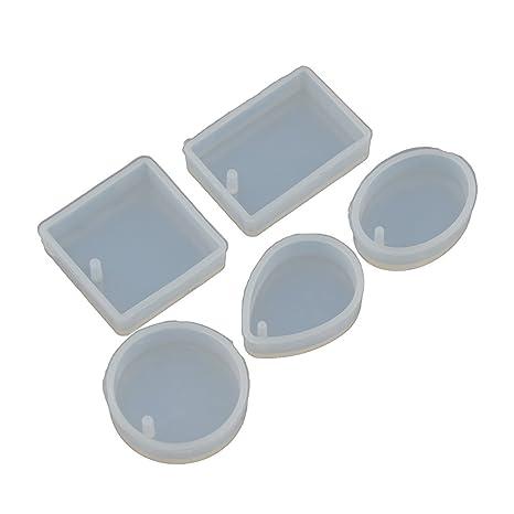 ynuth 1 Set colgantes decoración de molde de silicona transparente accesorios joyería regalo hacer moldes