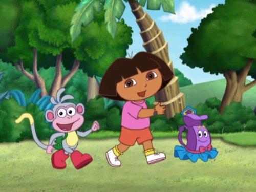 Dora The Explorer Dora's Halloween Parade (The Backpack Parade)