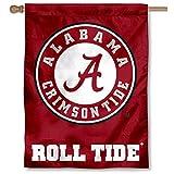 Alabama Crimson Roll Tide Banner House Flag
