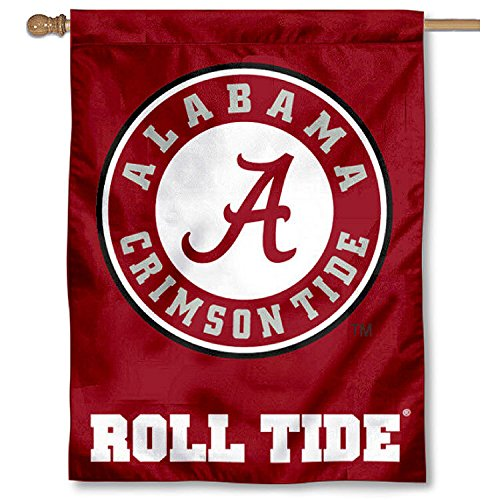 Alabama Crimson Roll Tide Banner House Flag For Sale