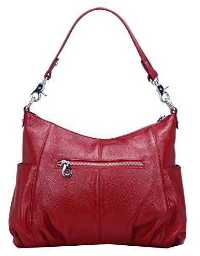 Top Body Bag Handle Leather Ladies Maroon and Women��s Bags Handbags Satchel Purse Heshe Totes Cross h Shoulder Hobo for vXzqxP1