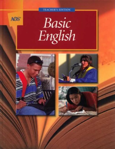 (BASIC ENGLISH WRAPAROUND TEACHER'S EDITION (Ags Basic English))