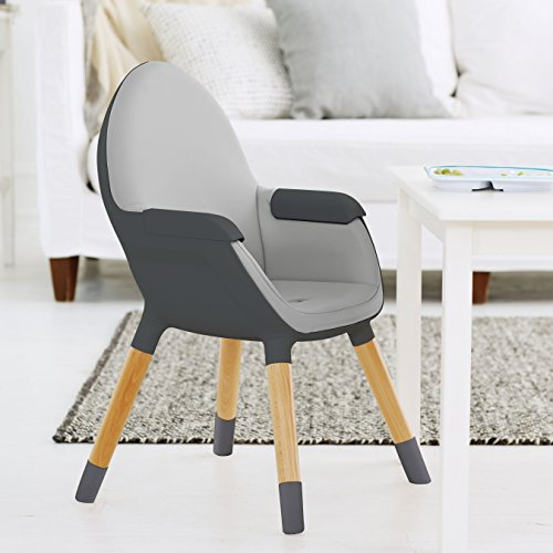 Skip Hop Tuo Convertible High Chair, Charcoal Grey by Skip Hop (Image #5)
