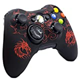 xbox 360 controllers cool colors - BRH Cool Silicone Protector Cover Case Anti-slip Soft Comfort for Xbox 360 Controller Skin Camo (3 Colors Package) (Red)