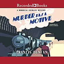Murder Has a Motive Audiobook by Francis Duncan Narrated by John Curless