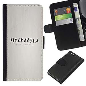 Leather Etui en cuir || Apple Iphone 5C || Ministerio de Silly Walks @XPTECH