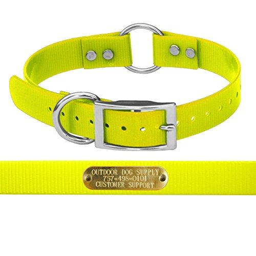 Yellow Collar Strap - 7