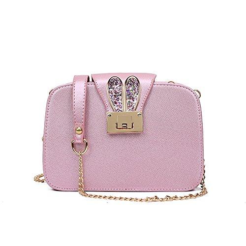 c4c69a0d60 Montmo New Women s PU Leather Cross-body Chain Purse Mini Wallet Clutch Handbag  Shoulder Bags