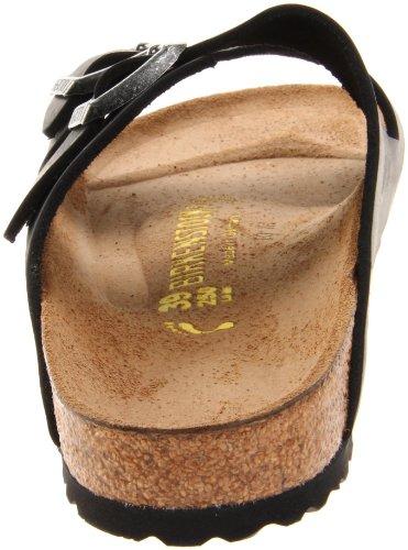 Sandal Birko Flor Black Women's Oiled Leather Birkenstock Arizona wq4I66