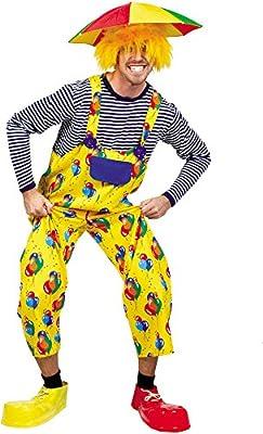 Disfraz de payaso-Peto para adulto: Amazon.es: Juguetes y juegos