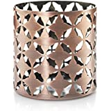 Yankee Candle 1507943Metal Candle Holder, 10.5x 10.5x 10.5cm, copper