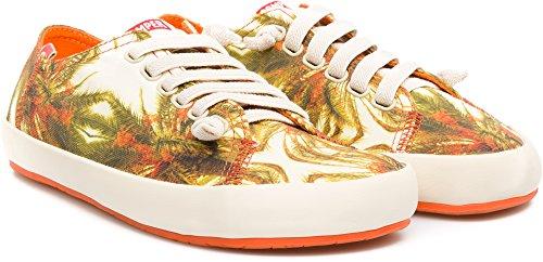 Camper Mujeres Peu Rambla Vulcanizado Fashion Sneaker Naranja