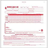 2-In-1 Driver's Daily Log Book w/Simplified DVIR, 3-Ply, Carbonless, No Recap - Stock (Qty: 10 Units)