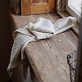 LinenMe 1 x Linum Tea Towel, Linen Cream, 47 x 70 cm