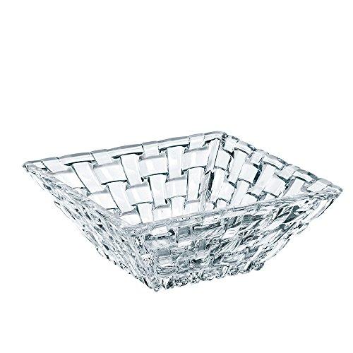 Crystal Square Bowls (Nachtmann Dancing Stars Bossa Nova Square Condiment Bowls, Set of 2)