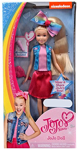 Amazon Com Nickelodeon Jojo Siwa Doll Exclusive Toys Games