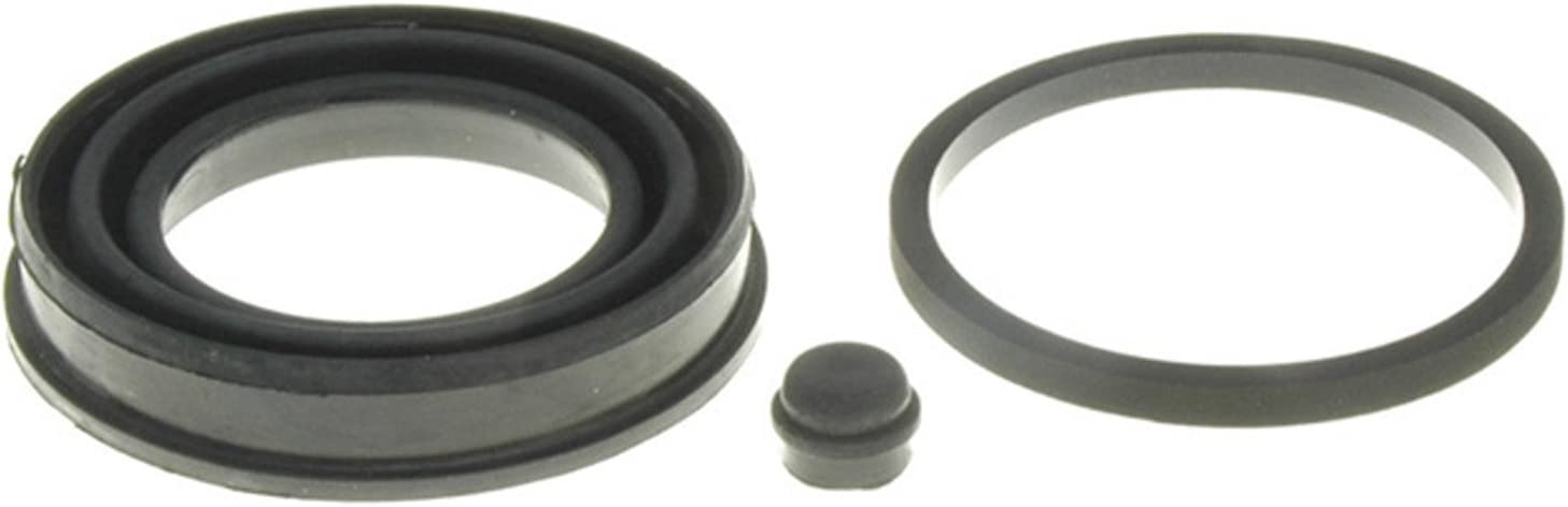 and Cover ACDelco 18H1156 Professional Rear Disc Brake Caliper Boot and Seal Kit with Boots Seal