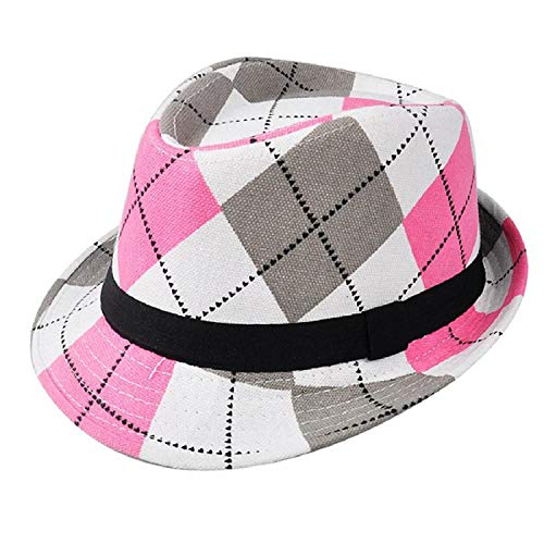 Price comparison product image Classic Style Fashion Jazz Kids Baby Boy Girl Cap Cool Photography Fedora Hat for Children,Type10
