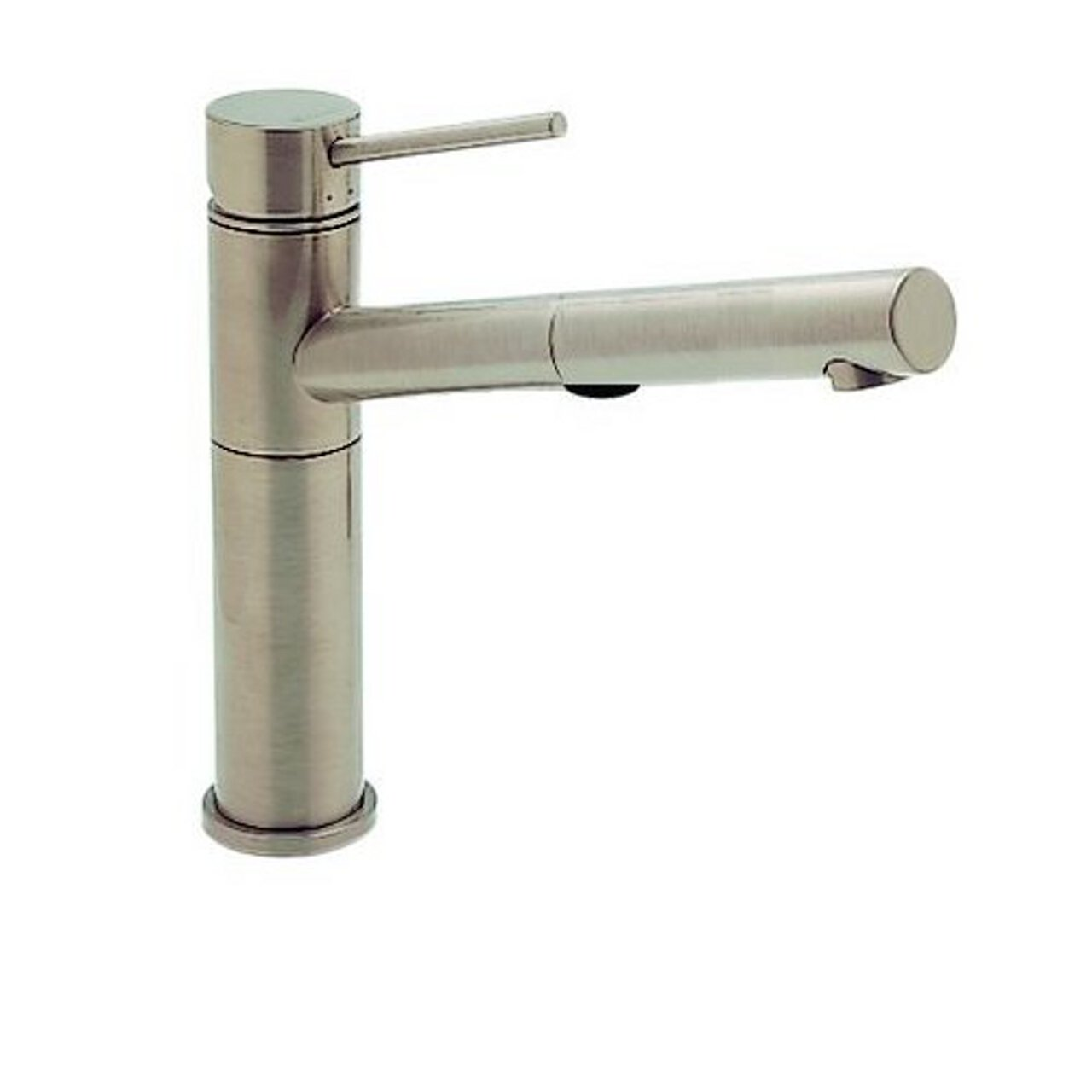Blanco 441402 Alta Pullout with Dual Spray, Satin Nickel - Touch On ...