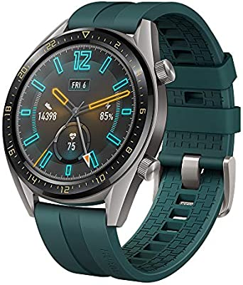 Huawei Watch GT Active - Reloj Inteligente, Verde, 46 mm, Reloj+Correa