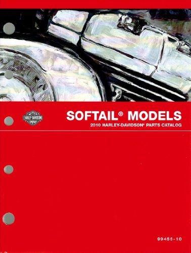 Harley Parts Catalog - 2010 Harley-Davidson Softail Models Parts Catalog, Part Number 99455-10